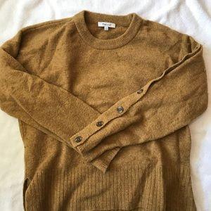 Madewell Button Sleeve Sweater